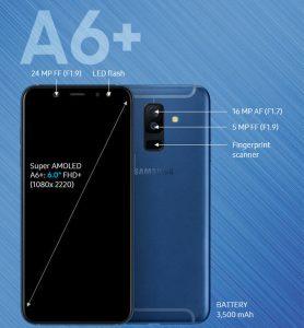 Thay màn hình samsung A6/A6 plus