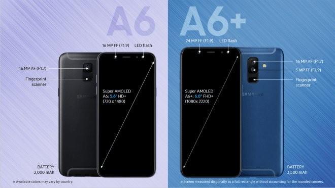 Thay màn hình samsung A6/A6+
