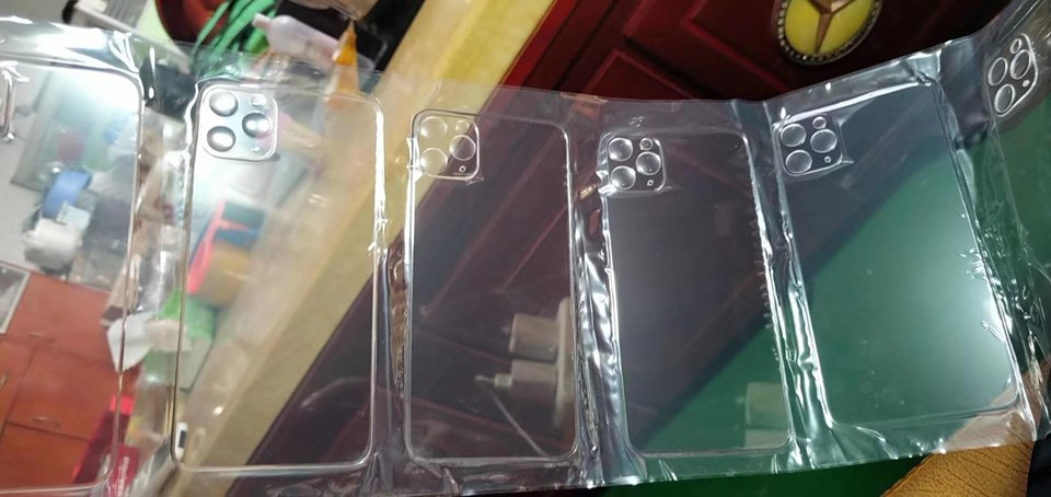 Thay mặt lưng iphone 11 pro, 11 pro max trong suốt