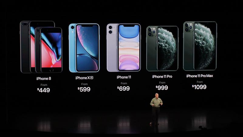 Giá bán iphone 11- thay màn hình iphone 11