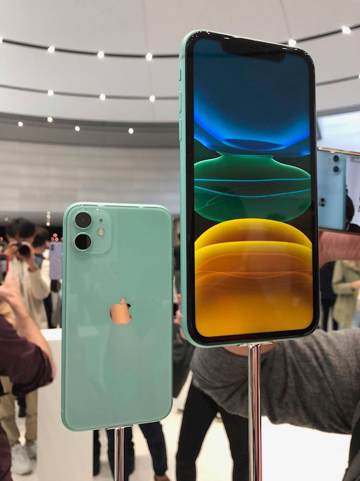 iphone 11 màu xanh