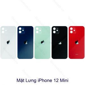 Giá thay mặt lưng kính iphone 12 mini